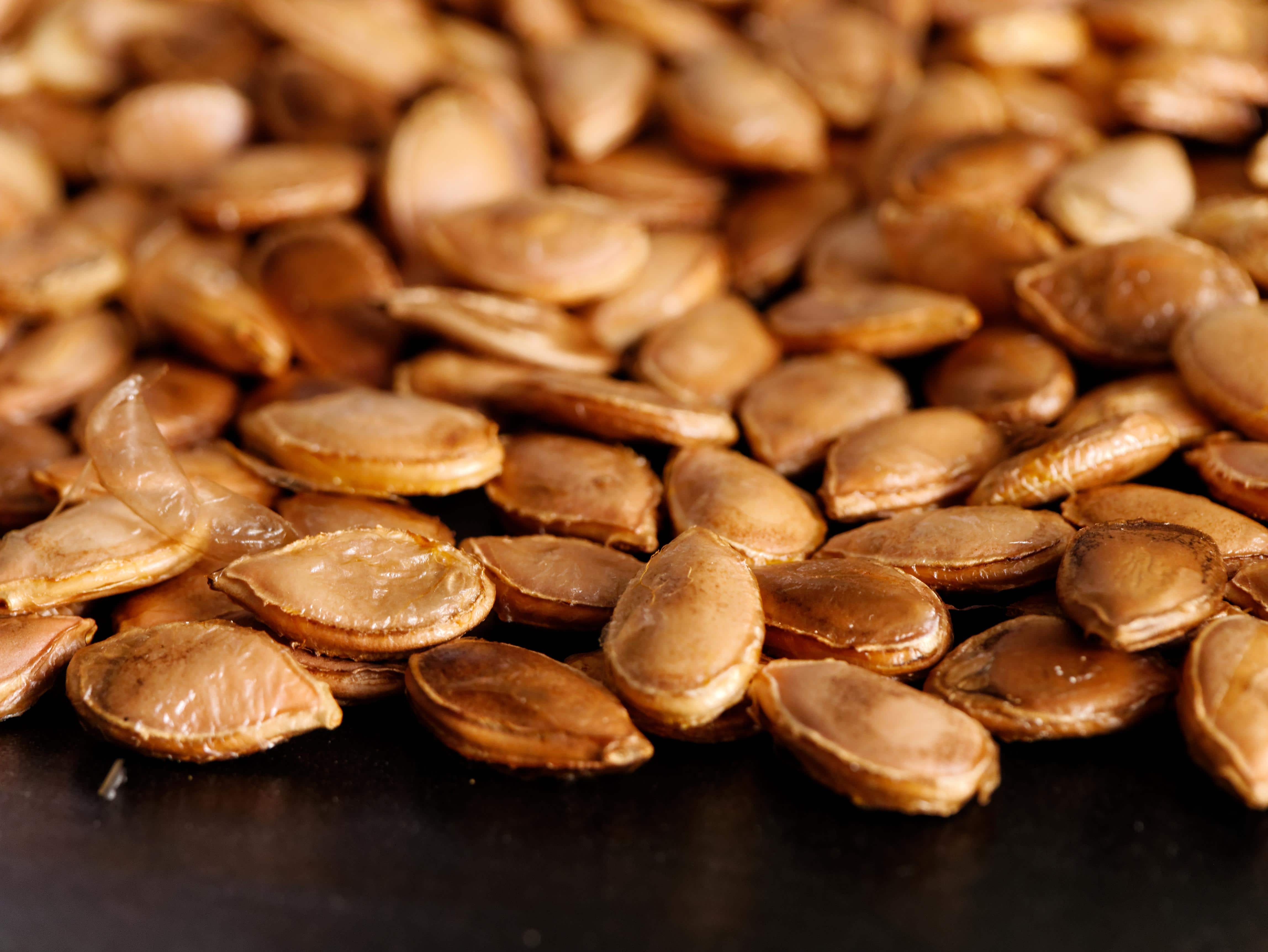 What is in pumpkin seeds
